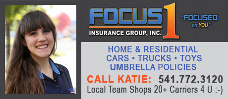 Insurance Medford, OR - Katie Mallory - Focus 1