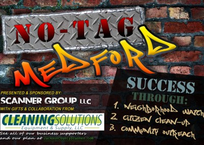 NO-TAG Medford | anti-graffiti and tagging in Medford, Oregon
