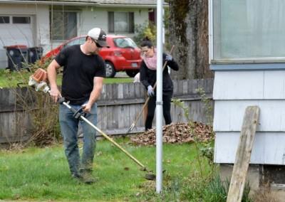 Cleaning Senior Yard