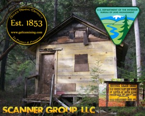 Cabin BLM standoff against miners - Galice, Oregon
