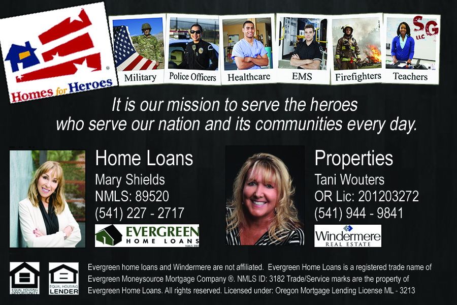 Rogue Valley Loans and Properties - Medford, Oregon Homes for Heroes